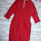 Нарядное праздничное красное платье женское Rever Island
