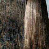 Кератиновое восстановление волос. Лечение волос.