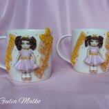 Сувенирные чашки для крестного и крестной
