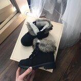 Скидка детские зимние ботиночки на меху 25,27 рр польша