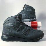 Мужские зимние ботинки кроссовки New balance 1300.
