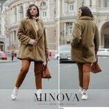 Новиночки Классное пальто деми, размеры 48- 56