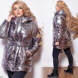 Новиночки Классная куртка зима, размеры 48- 58