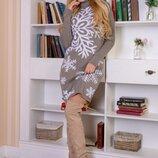 Вязанные платья 42-46 р