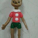 Кукла Ссср Буратино 52 см цена клеймо полиэтилен