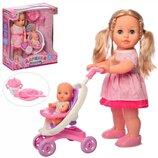 Кукла M 5444 UA Даринка. Limo Toy. Лялька для дівчинки. Кукла для девочки. Інтерактивна лялька.