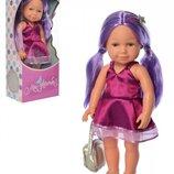 Кукла M 5407. Кукла M 5408. Лялька для дівчинки. Кукла для девочки. Интерактивная кукла.