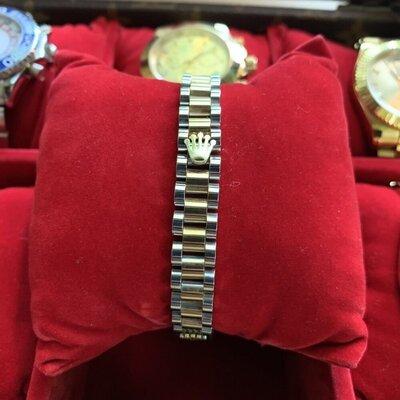 Браслет Rolex Bracelet President Silver/Gold