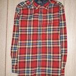 Тёплая рубашка next на 9 лет 2015г