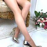 Женские туфли лодочки золото