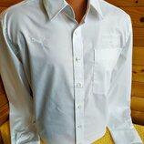 Стильная качественная брендовая белая рубашка Puma, оригинал, пр-во Германия, р.L.