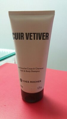 -40% мужской гель для тела и волос ив роше cuir vetiver ветивер yves rocher ів роше