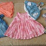 Фирменные платья 3-9мес