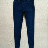 Стильные джинсы скинни с высокой талией Next, 12 pазмер.