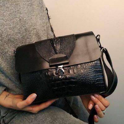 Большая распродажа иКрасивые кожаные сумки с тиснением, разные цвета