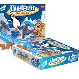 Игра детская настольная DREAM MAKERS Пингвин на льду 1219