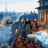 Картина по номерам. Brushme Вид на Париж GX7255