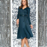Струящееся платье с мягким блеском разные цвета