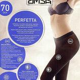 Плотные бесшовные колготы Omsa Perfetta 70 70 ден
