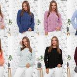 Нежнейший теплый свитер 8 цветов