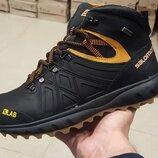 Мужские зимние кожаные ботинки S7 ч ж бот