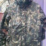 Бушлаты Дуб осень - зима на флисе с капюшоном, камуфляжные, для охоты и рыбалки