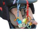 Универсальный ремень держатель для игрушек на коляску, в кроватку, на стул