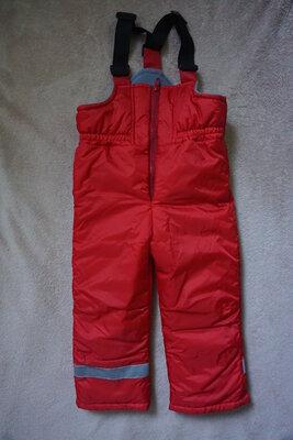Зимний теплый полукомбинезон для девочки, лыжные штаны Dzziga