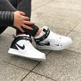 Женские зимние кроссовки Nike Air Force AF1 | Жіночі кросівки зима