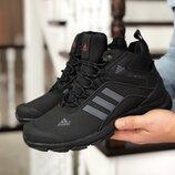 ботинки Adidas Climaproof мужские черные зима