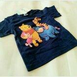 Оригинальная, хлопковая футболочка Disney Германия Размер 86 Состав 100 % хлопок