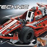 красная гонка Lego Technic 42011