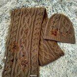 Набор шапка и шарф Rocha. John Rocha