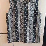Шелковая майка блуза 100% шелк