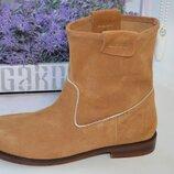Кожаные ботинки Zara р. 37 по стельке 24 см