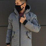 Зимняя куртка LC - Stark Серая