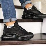 Кроссовки мужские термо Nike Air MX 720 черные