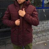 Зимняя куртка LC - Stark Бордовая