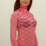 Гольф гипюр,декоративная горловина и манжеты, разные модели и цвета, от 110 грн.