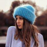 Стильная и теплая зимняя шапочка в стиле Такори TAK.ORI