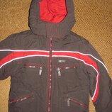 Тёплая куртка-пуховик с жилеткой