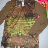 наряд костюм скелет на хеловин карнавальный рост 122-128 см 6-7-8 лет зомби хелоуин хелловин