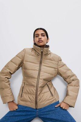 Продано: Теплая зимняя куртка пуховик Zara зара/оригинал