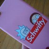 Чехол бампер iphone 6 розовый