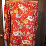 блузка вискоза F&F в идеальном состоянии XL