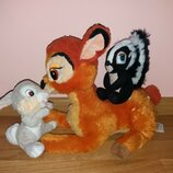 Мягкие игрушки из мультфильма Бэмби.. Бемби..бембі от студії Дисней Disney Дисней.