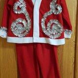 Новорічний костюм Морозко, гномик, Санта, ельф.
