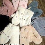 Новинка меховые рукавицы ,варежки ,мех сверху и внутри,оочень теплые-7 цветов