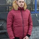 Зимняя куртка LC - Pilot Цвет бордо