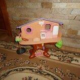 Дом на дереве для маленьких игрушек Mattel